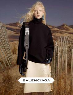BALENCIAGA A/W 2012  Photographer: Steven MeiselStylist: Marie-Amélie Sauvé Model: Linn Arvidsson