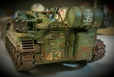Special Projekt BMP 1 with Brand New figures from W.A.R  Weird Armies Reign