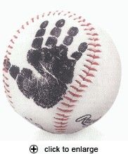 baby+print+on+baseball - Click image to find more Kids Pinterest pins