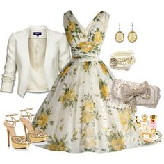 """Floral Fun"" by adrpellegrino on Polyvore"