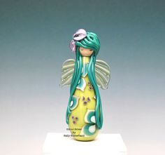 Woodland Fairy  Doll Bead by SoulSilver on Etsy, £28.00