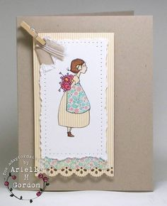 FLOWERS FOR A FRIEND / A Day For Daisies digital stamp