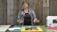 http://missouriquiltco.com - Jenny Doan teaches a group of children in Nebraska how to use their kit from Quilts For Kids to make a lovely little quilt for a...