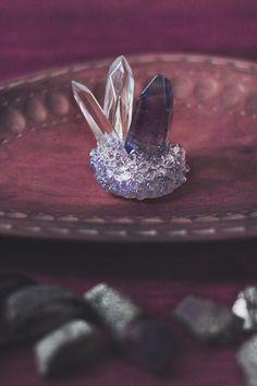10 Blue Dumortierite Crystal Tumblestones By Sunnycrystals