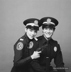 kim catrall and steve guttenberg in police academy