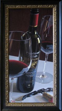 #Arvid, #Thomas - #Bear #Necessities #Giclee on #Canvas { #art #collect #print #realistic #wine #painting }