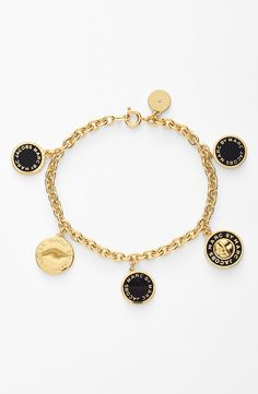On the wishlist - Marc Jacobs charm bracelet.