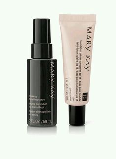 Primer and spray for an everlasting look... www.marykay.com/1114 or text 2703124105