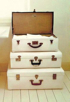 love old suitcases