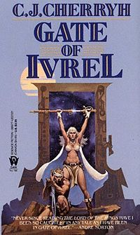 Gate of Ivrel - C. Cherryh, cover by Michael Whelan Sci Fi Fantasy, Dark Fantasy, Fantasy Books, Pulp Fiction, Science Fiction, Fiction Novels, Sci Fi Books, My Books, Classic Sci Fi