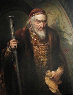Andrey Shishkin - Ivan the Terrible ( Шишкин Андрей Алексеевич - Иван Грозный)