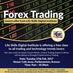 Looking for an alternative source of income, want to widen your knowledge on forex and cryptocurrency trading or do you build a career in trading? Here is an amazing opportunity for you. Cryptocurrency Trading, Forex Trading, Life Skills, Work On Yourself, Work Hard, Online Business, Opportunity, Knowledge, Success