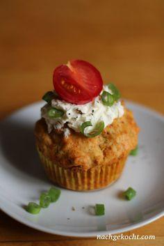 Tomate-Mozzarella-Muffins