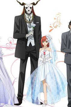 The Ancient Magus's Bride Anime Couples, Cute Couples, Reimei No Arcana, Mago Anime, Chise Hatori, Elias Ainsworth, Sailor Moon, The Ancient Magus Bride, Fan Art