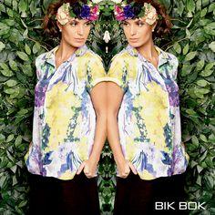 Estamparia colorida para a Primavera Verão 2016 da Bik Bok #fashion #bikbok
