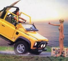 Image result for Hot Women and Land Rover Defender