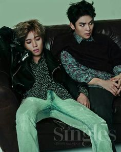 Niel and Ricky: Singles August issue