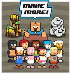 Welcome to the factory business, where you can gain maximum profits on the backs of your hard-working employees! You are now a factory owner! The Big Boss, Harry Potter Facts, Clash Royale, Bart Simpson, Bowser, Comics, Memes, Funny, Sketches