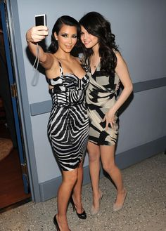Kim Kardashian and Selena Gomez