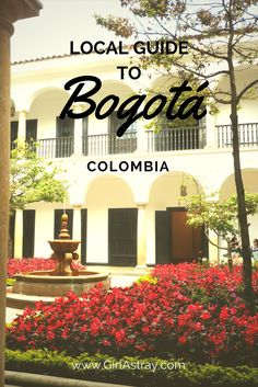 Traveling to Bogota Colombia? This local guide's got you covered! Points of interest in Bogota, safety, weather, where to drink coffee and more!