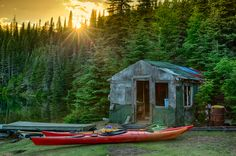 Sunset while Kayaking the Slate Islands on Lake Superior The Slate, Beauty Around The World, Lake Superior, Kayaking, Ontario, Outdoor Gear, Islands, Tent, Places To Visit