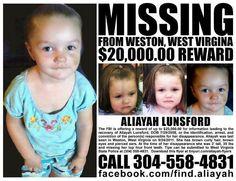 Aliah Lunsford  Weston,West Virginnia  September 24,2011