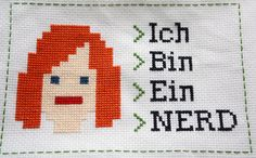 IT Crowd cross stitch