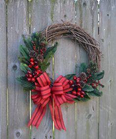 Christmas Wreath Red Bird Wreath Grapevine by BeautifulHomeAccents Grapevine Christmas, Christmas Door, Christmas Crafts, Christmas Decorations, Christmas Ornaments, Holiday Decor, Christmas Stuff, Christmas Wonderland, Christmas Makes