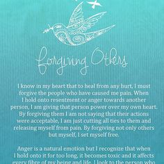 Affirmation - Forgiving Others