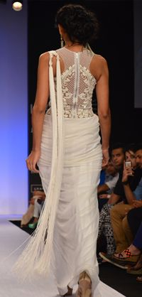 Gorgeous Saree Gown from http://SonaakshiRaaj.in/collections.html Site