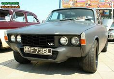 Rover 1972 fitted with a holley 390 box fitted modulars fitted Boddy cut and chopped to suit wheels Painted in a dark Rover P6, Retro Cars, 70s Cars, Automobile, Strange Cars, Classic Cars British, Stills For Sale, Japan Cars, Classic Motors