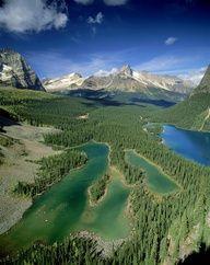 ✮ Mary Lake and Lake O Hara, Yoho National Park, British Columbia, Canada