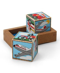 Take a look at this Vehicles Sound Blocks Set  by Melissa & Doug on #zulily today!