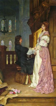 ♪ The Musical Arts ♪ music musician paintings - William Arthur Breakspeare | If Music be the Food of Love, 19th Century