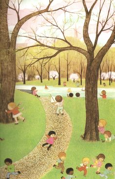 """Oh what a busy day"",Gyo Fujikawa"