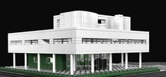 Villa Savoye de Le Corbusier à Poissy, France - Artiste : Michael Hepp -  Collection : LEGO Architecture