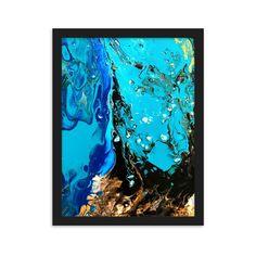 Kehystetty juliste Underwater #homedecor #home #poster #posterart #juliste #taide #koti #art #johannadesign