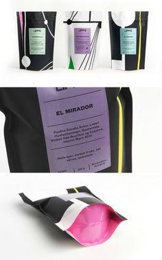 Lippe Kaffe packaging by Henrik Placht