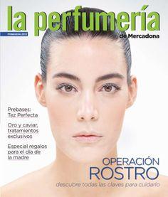 Rediseño de la revista La perfumería de Mercadona. Edición Primavera 2012