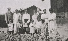 1930's Mexican migrant school