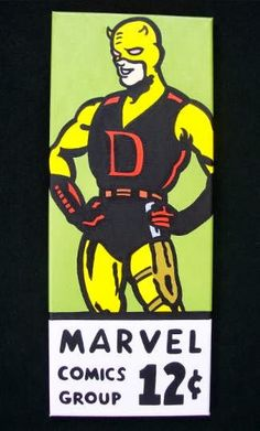 Daredevil corner box art