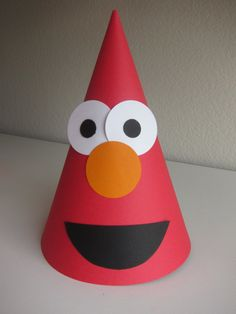 Elmo Birthday Party Hats Sesame Street by BirthdayWishesAlways, $25.00
