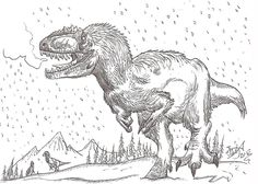 """Amazing Yutyrannus by ~HodariNundu on deviantART 