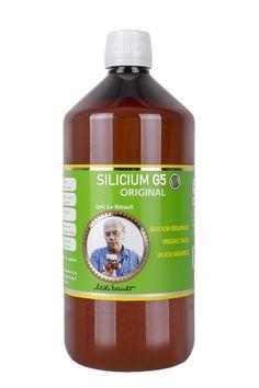 El Silicium G5 Siliplant  es un complemento dietético que aporta silicio orgánico de origen vegetal con un conservante natural. Es una solución bebible monomérica, sin partículas. Línea de productos Silicium elaborada a partir de la fórmula G5 del Dr. Loïc Le Ribault.