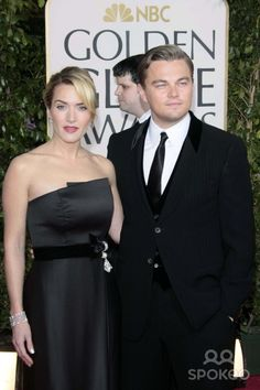 Kate Winslet and Leonardo Dicaprio Arriving at the 66th Annual Golden Globe Awards Presented by the Hollywood Foreign Press Association (Hfpa) at Hotel Beverly Hilton in Beverly Hills, Los Angeles, USA, on January 11th, 2009.photo by Alec Michael-Globe Ph