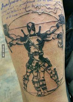 My new tattoo in progress... NOTE: Not my tattoo, but its badass and I love it!