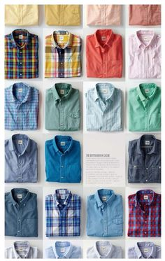 button-down laydowns