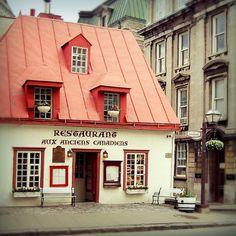 Restaurant in Old Québec City