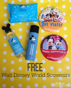 Free Walt Disney World Souvenirs. 6 souvenirs at WDW that won't cost you a cent.