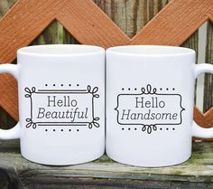 Hey, I found this really awesome Etsy listing at https://www.etsy.com/listing/179127269/ceramic-coffee-mug-set-hello-handsome Perfect for my love and i